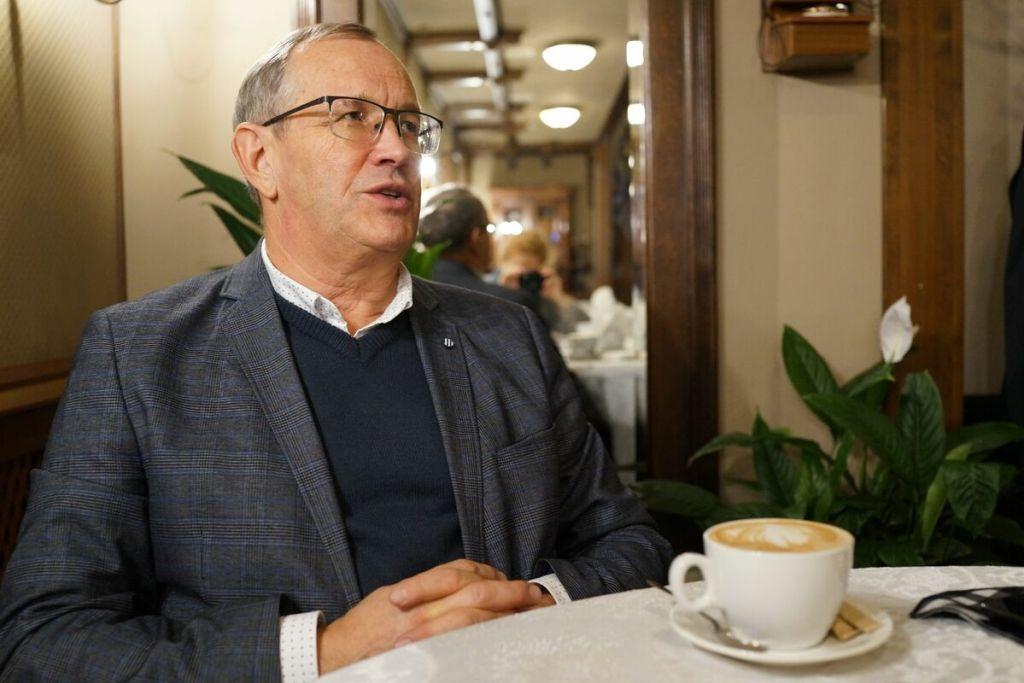 Интервью с новым ректором Одесского экономического А. Ковалёвым 5