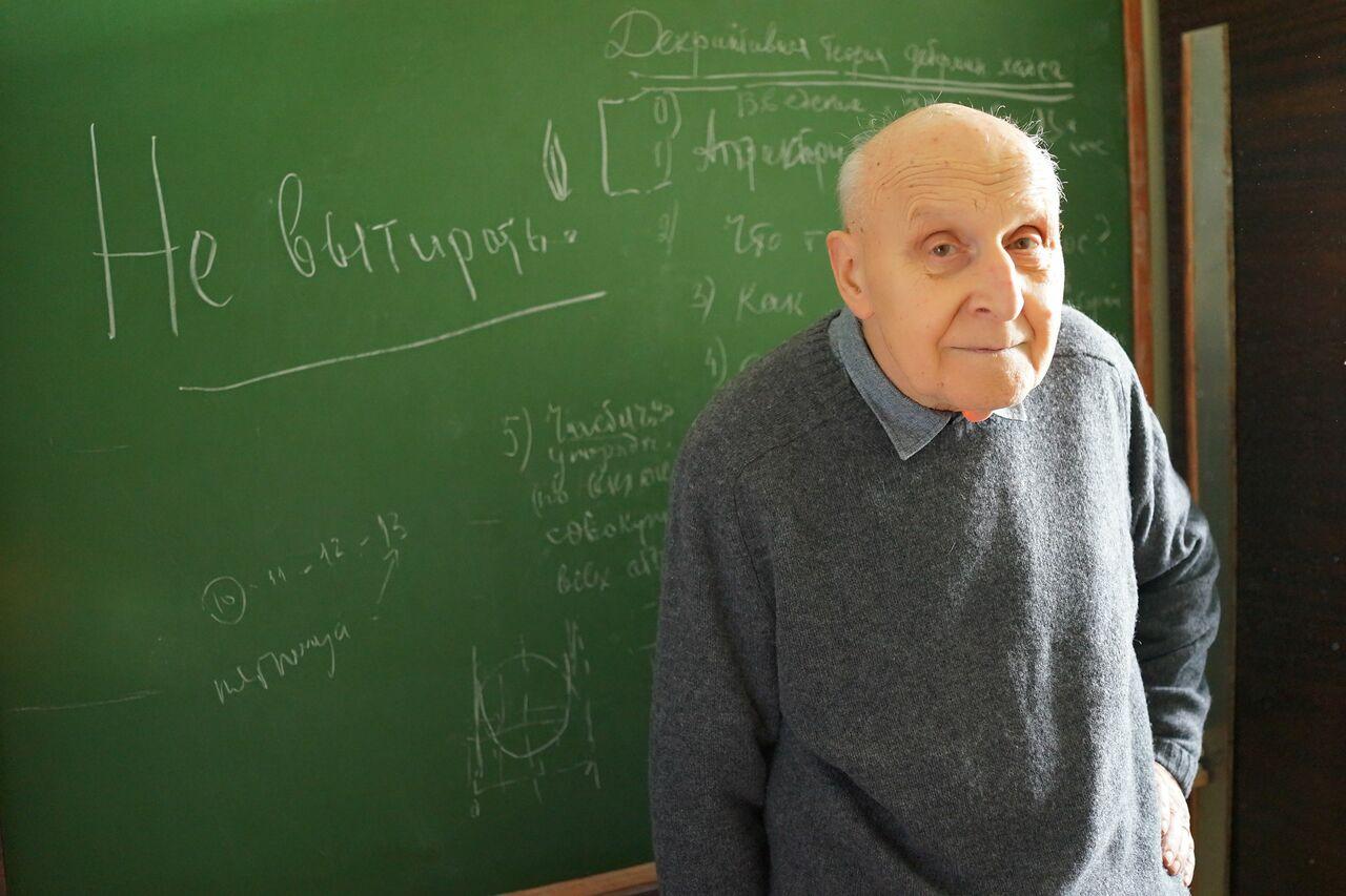 Интервью со всемирно известным математиком А.Н. Шарковским из Киева 1
