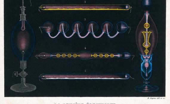 Иллюстрации по оптике из учебников физики Амеде Гиймен (1868 - 1882) 2