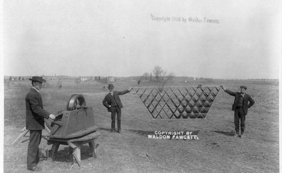 Тетраэдрические воздушные змеи Александра Грэма Белла (1903–1909) 1