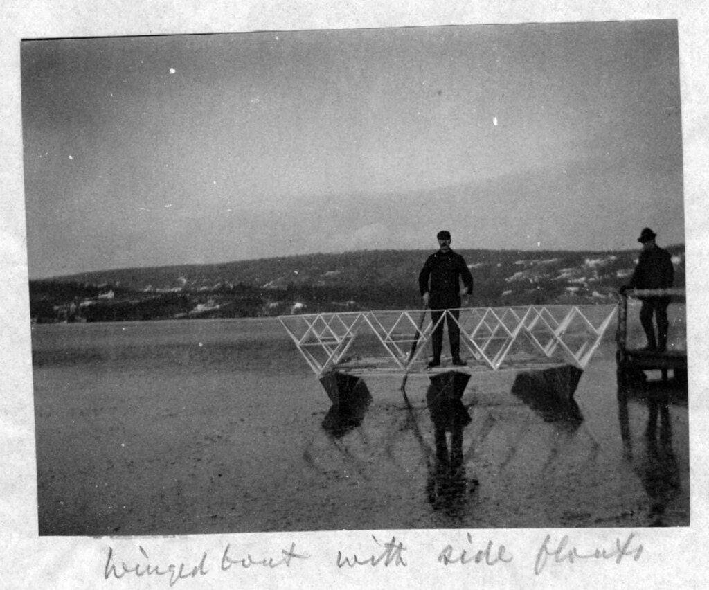 Тетраэдрические воздушные змеи Александра Грэма Белла (1903–1909) 2