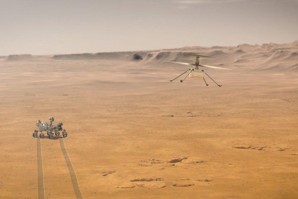 О первом марсианском вертолёте: интервью с разработчиком Ingenuity 4