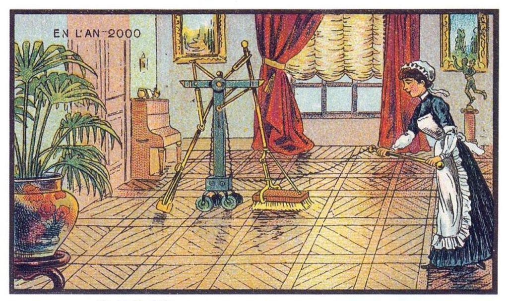 Как в 19-м веке представляли 2000 год 8
