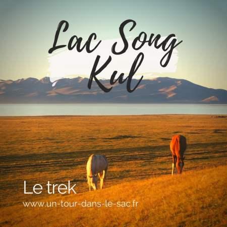 Trek vers le lac Song Kul, Kirghizistan