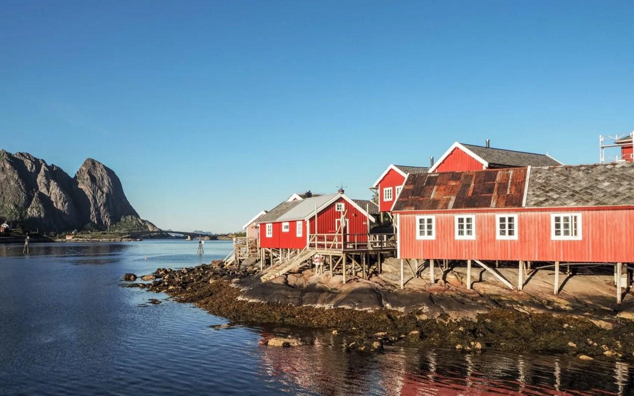Reine, Lofoten, Norvège