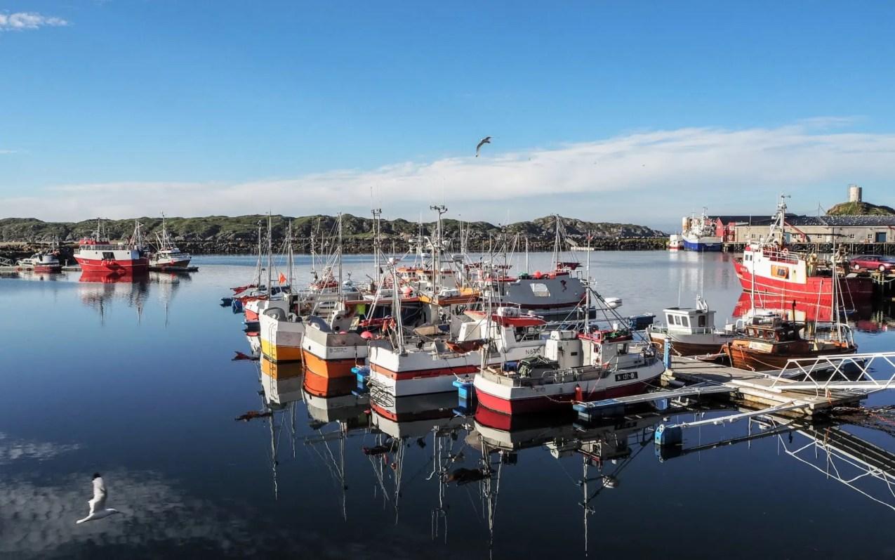Stø en Norvège, le port