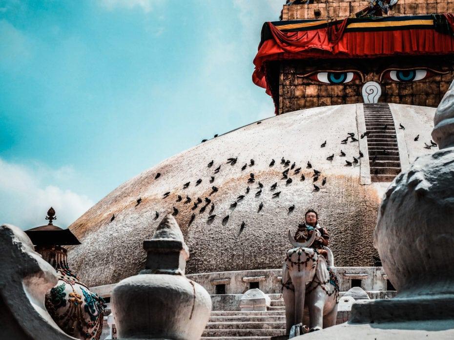 Bodnath voyage Katmandou