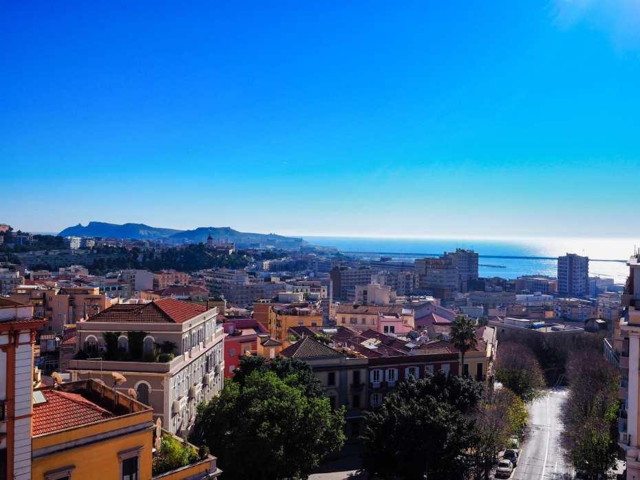 Vue ville Cagliari