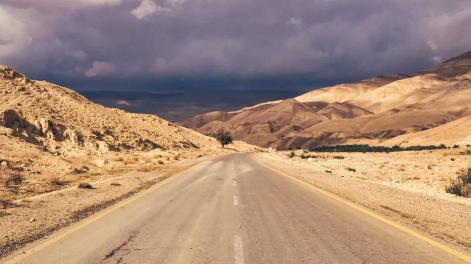 Route du roi paysage