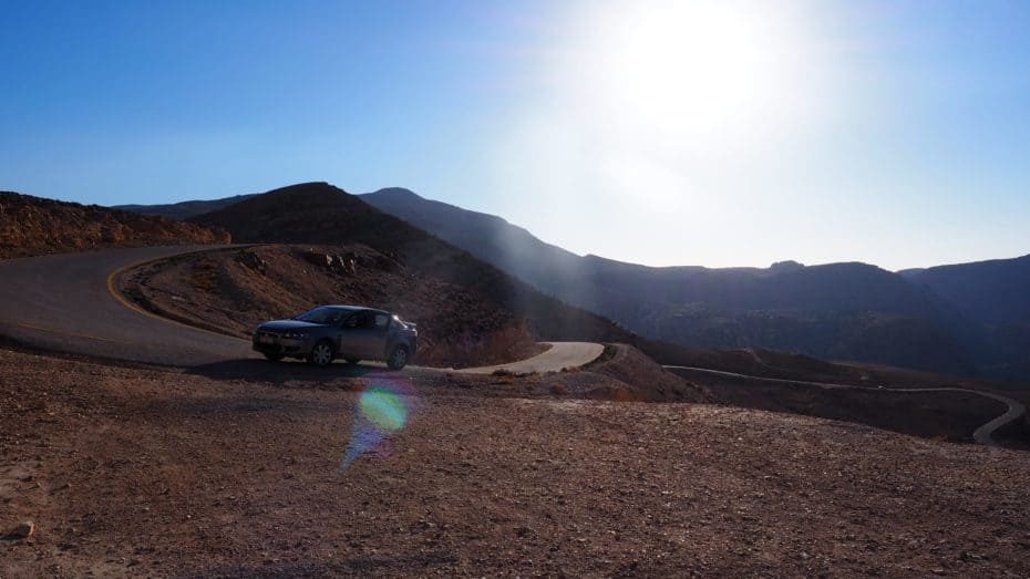 Jordanie road-trip