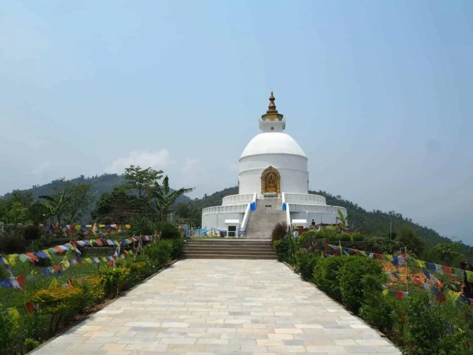 Pagode de la paix, Pokhara