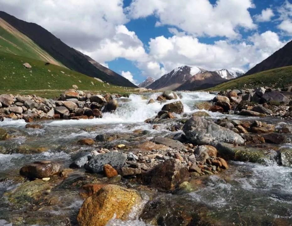 Fleuve kirghizistan