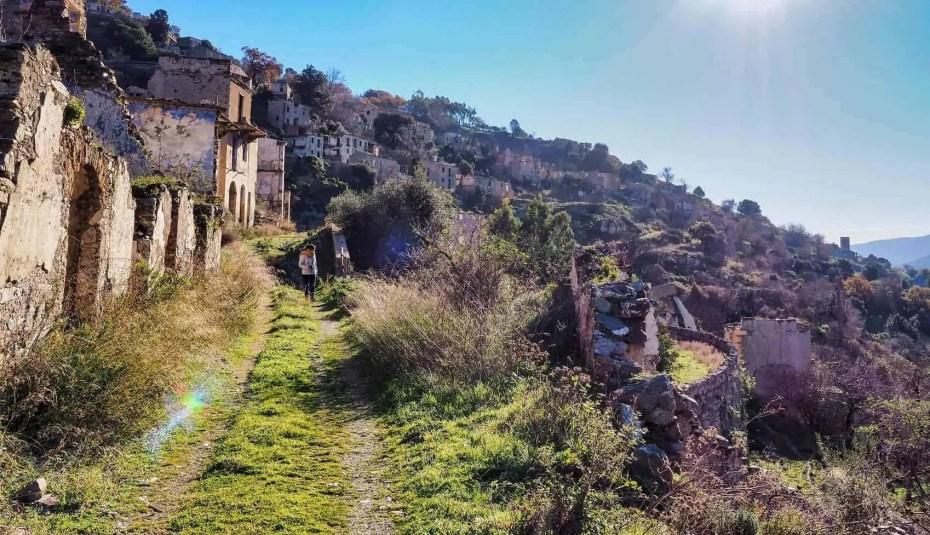 Village Gairo Vecchio Sardaigne