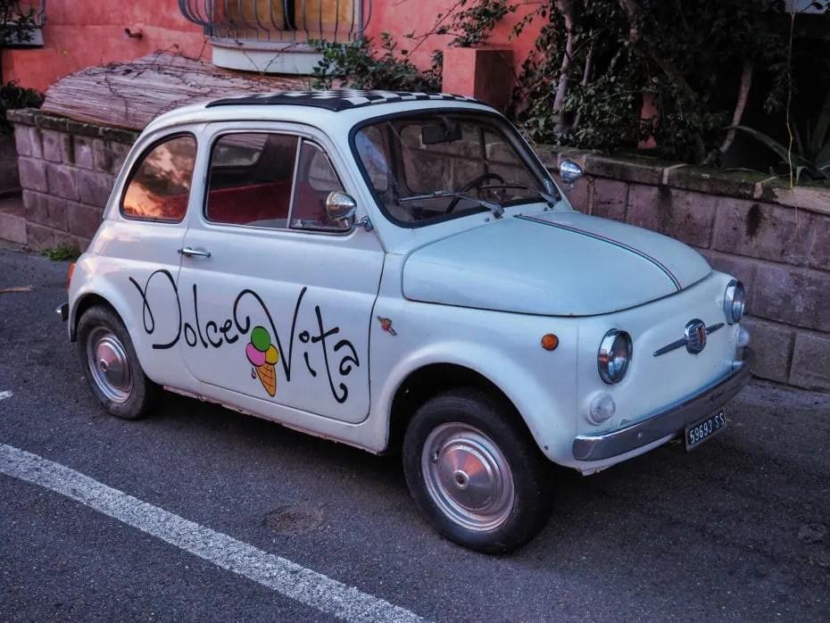 voiture d'italie