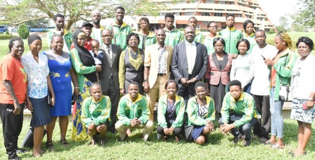 Go for Gold! VC Charges FUNAAB Contingents to WAUG