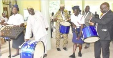 VC Commissions Boys Brigade Musical Instruments
