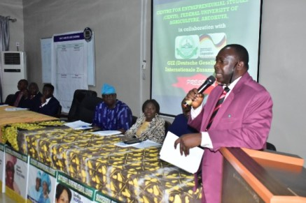 VC Commends CENTS, GIZ for Entrepreneurial Drive