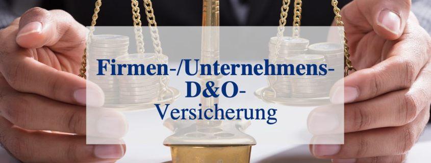 Firmen DundO D&O Unternehmen