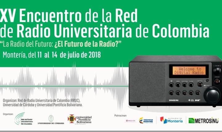 XV Encuentro de la Red de Radio Universitaria de Colombia