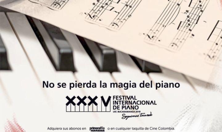 XXXV FESTIVAL INTERNACIONAL DE PIANO UIS 2018