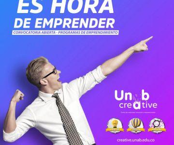 Convocatoria de emprendimiento, Unab Creative