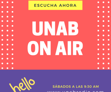 Unab On Air: Interview about life and  the importance of English