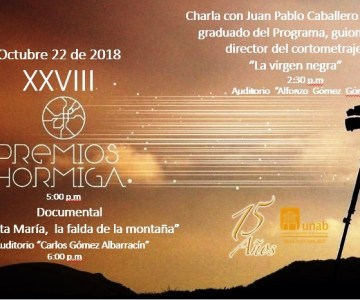 XXVlll Entrega de los Premios Hormiga UNAB