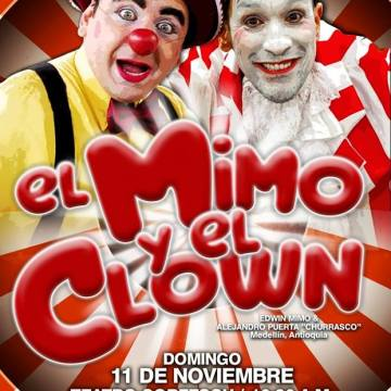El mimo y el clown en el Teatro Corfescu