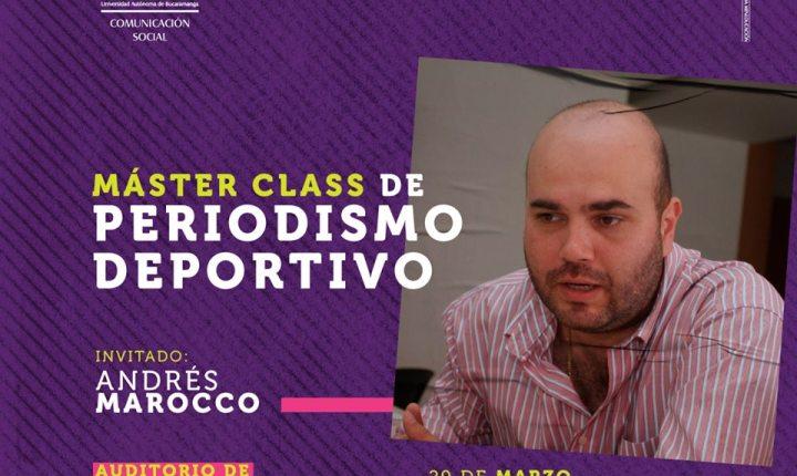 Máster Class Andrés Marocco