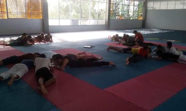Entrenamiento mental a los deportistas de Karate