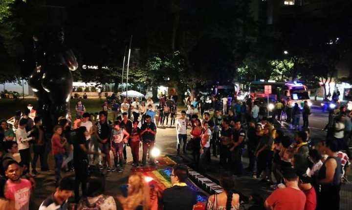 Colectivos LGTBIQ protestan en contra de la discriminación y la violencia