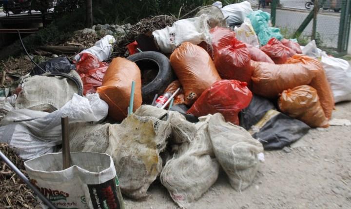 Reubicación del sitio de destino final de las basuras de Bucaramanga