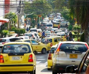 La congestión vehicular genera estrés a los bumangueses