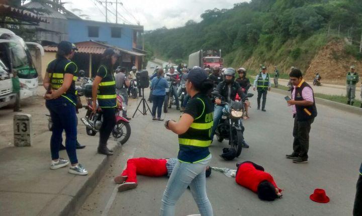 Falta de cultura en las vías de Bucaramanga