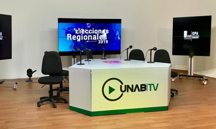 Alianza de Medios Unab realiza Cubrimiento Especial de elecciones regionales 2019