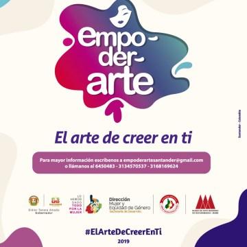 EmpoderArte, iniciativa cultural para el empoderamiento femenino