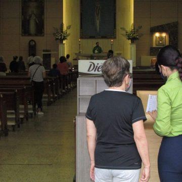 Sector religioso se reactiva de manera gradual en Bucaramanga