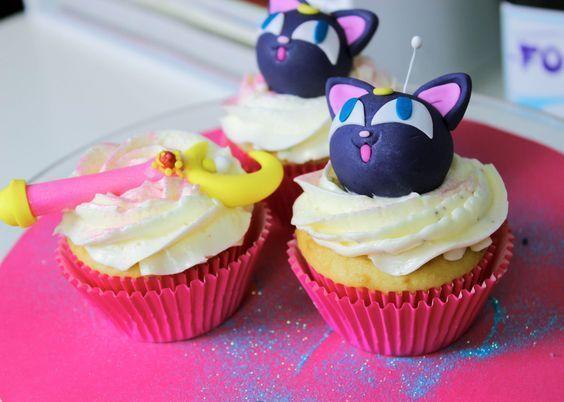 cupcakes sailor moon