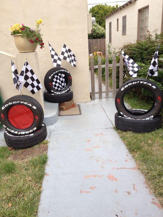 ideas para un cumpleaños de cars
