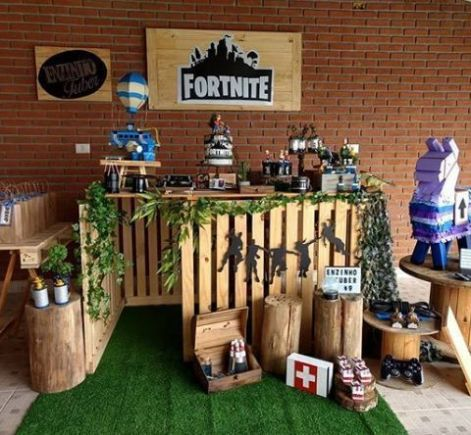 ideas para un cumpleaños de fortnite