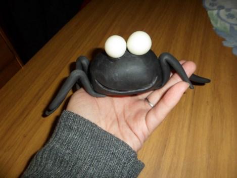araña de porcelana fria