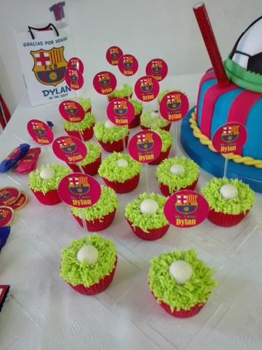 cupcakes futbol
