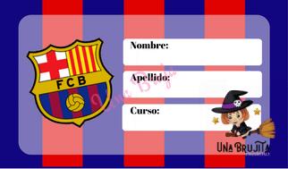 etiqueta barcelona