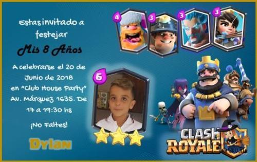 invitacion clash royal
