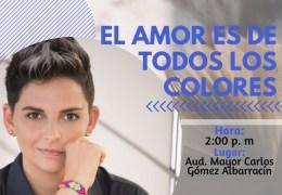 Encuentro con autor 'El amor es de todos los colores'.