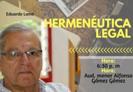 Lanzamiento de libro 'Hermenéutica legal'