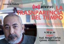 Encuentro con autor 'La transparencia del tiempo'