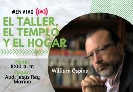 Encuentro con autor «El taller, el templo y el hogar».
