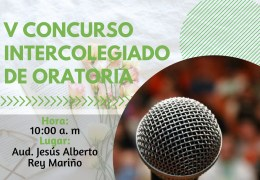 V Concurso Intercolegiado de Oratoria.
