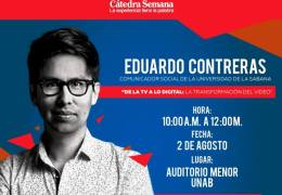 Cátedra Semana con Eduardo Contreras